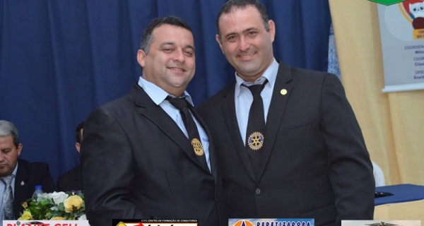 POSSE DA NOVA DIRETORIA DO ROTARY